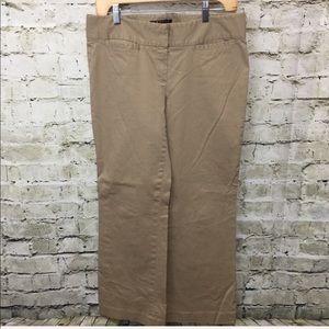 🌻 Theory Flat Front Khaki Chino Pants Stretch